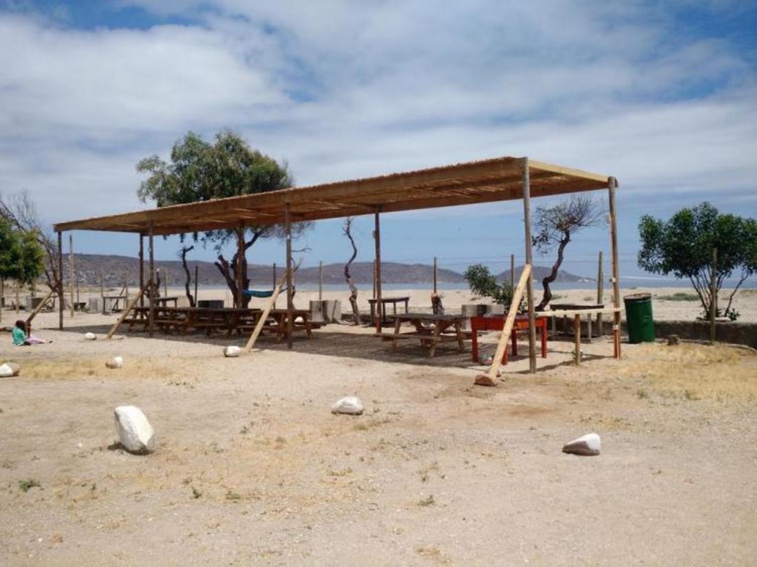 Camping y Cabañar Mar Azul