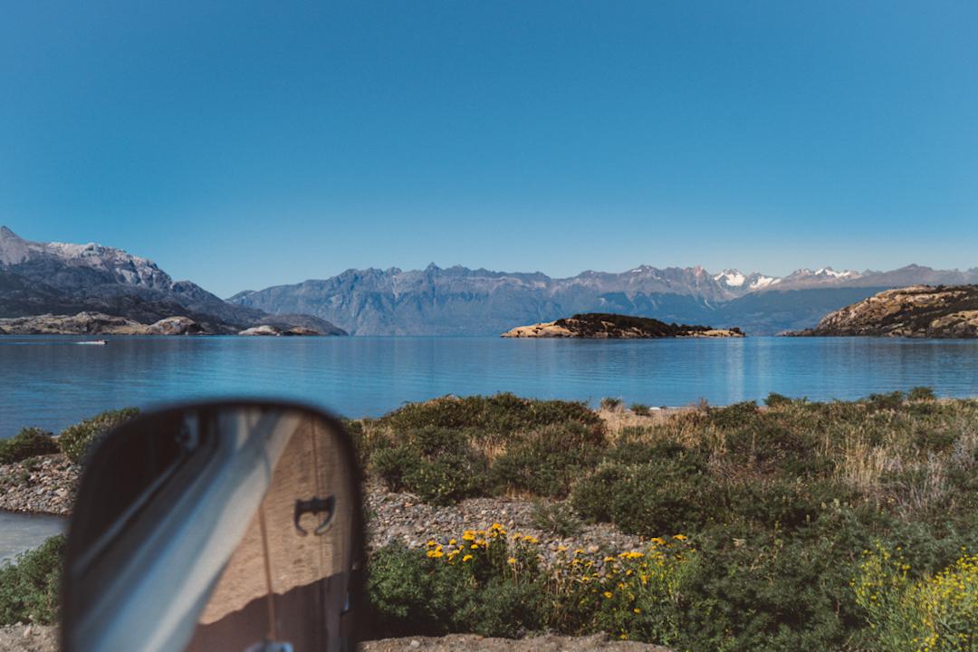 Vista Lago General Carrera